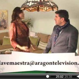 AdrA Decoración en Aragón TV. La Llave Maestra